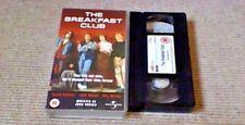 JOHN HUGHES THE BREAKFAST CLUB UNIVERSAL UK PAL VHS VIDEO 2000 Molly Ringwald