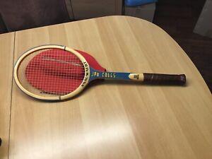 Snauwaert Tennisschläger Vintage, Jan Kodes de Luxe, Wimbeldon Champion