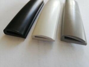 Kantenschutz Rammschutz Stoßkante Scheuerleiste PVC Rand Schutz Boot U2 - 3 mm