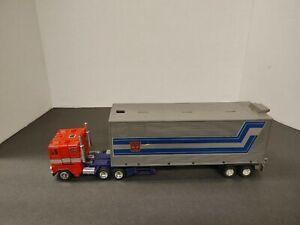 Transformers 1984 VINTAGE G1 AUTOBOT OPTIMUS  PRIME LEADER Incomplete!