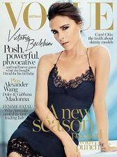 Vogue Australia September 2013 Victoria Beckham Wang Madonna Valerija Kelava NEW