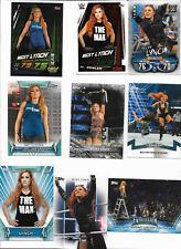 WWE Becky Lynch Card LOT w/Slam Attax Cards THE MAN