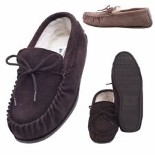 1ce6226125c Suede Moccasin Slippers for Men for sale
