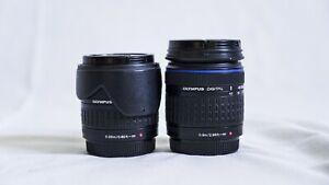Olympus Zuiko 14-42mm f/3.5-5.6 ED + Olympus 40-150mm f/4-5.6 ED Zuiko