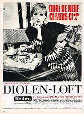 PUBLICITE ADVERTISING  1965   DIOLEN-LOFT     le  jersey