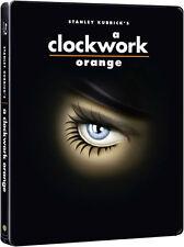 A CLOCKWORK ORANGE (Uhrwerk Orange) Blu-ray Disc, Steelbook NEU+OVP