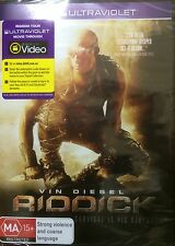RIDDICK-Vin Diesel-Region 4-New AND Sealed-DVD+Ultraviolet