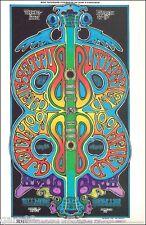 Mike Bloomfield Paul Butterfield   BG  Handbill 1969 Greg Irons