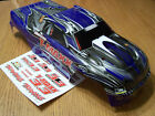 NEW Traxxas 4907 3.3 T-Maxx Blue Silver White Painted Body w/ Decal 49077-3