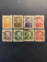 1948-50 POLAND SELECTION STAMPS ''BOLESLAW BIERUT''