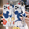 Cute Cartoon Mickey Minnie Phone Case Cover For iPhone 12 XR 7 8 11 XS Max 12Pro