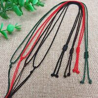10 Mixed Color Chinese Thread Knotted Silk Love Rope String Pendant Necklace