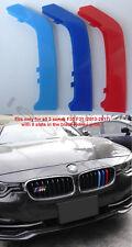 M Sport Color Front Kidney Grille Trim Stripe BMW F30 F31 3 Serie 2013-17 8 BARS