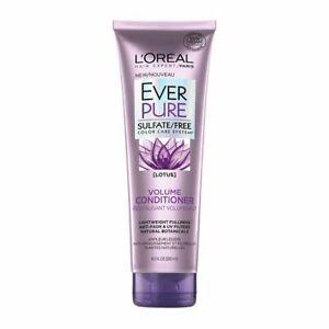 L'Oréal Paris EverPure Volume Conditioner Lotus Flower, 8.5oz each