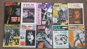 10 x Derann 'Film For The Collector' magazines. Super 8mm.