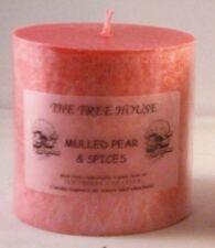 Bougie pilier de décoration intérieure rose roses