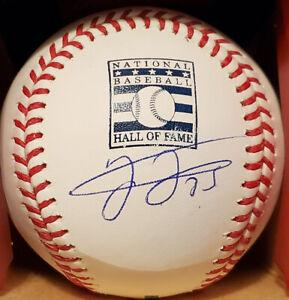Frank Thomas Autographed HOF Baseball Under Logo with BECKETT COA