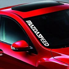 MAZDASPEED Front Windshield Banner Side Decal Vinyl Car Stickers for MAZDA Auto