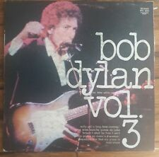 Bob Dylan Vol.3  Bootleg  Buhay Records BHL 8003 import