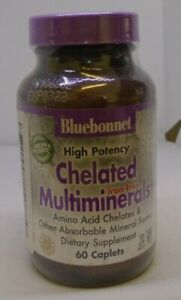 Bluebonnet Chelated Multiminerals 60 Caplets