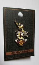 pin's Hard Rock Café Egypte / 6th anniversary Nabq 2019 (Anubis) double attache