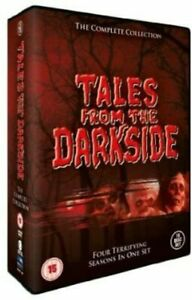 """TALES FROM THE DARKSIDE COMPLETE SERIES 1-4 DVD BOX SET 16 DISCS """"NEW&SEALED"""""""