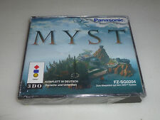 BRAND NEW FACTORY SEALED PAL IMPORT PANASONIC 3DO GAME MYST