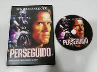 PERSEGUIDO THE RUNNING MAN DVD SLIM ESPAÑOL ENGLISH ARNOLD SHWARZENEGGER