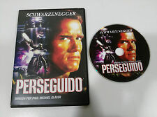 PERSEGUIDO THE RUNNING MAN DVD SLIM ESPAÑOL ENGLISH ARNOLD SHWARZENEGGER
