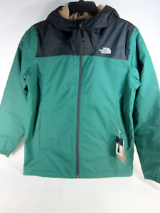 THE NORTH FACE BOY'S WARM STORM JACKET,NIGHT GREEN, XL (18/20), NEW WITH TAGS
