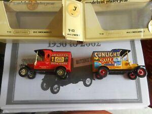 Matchbox Yesteryear RARE Y12 Arnotts & Sunlight