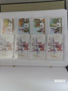"""2006 Israel stamps """"Crusader sites in Israel"""" Set x 4 Booklets MNH Ex"""