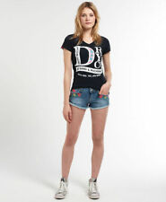 Superdry Cotton Hot Pants Low Rise Shorts for Women