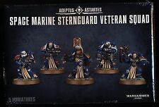 Warhammer 40K Space Marine Sternguard Veteran Squad New/Sealed Free Shipping