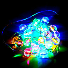 LED Outdoor Rainbow Lamp String Light Garden Christmas Party Fairy Lamp