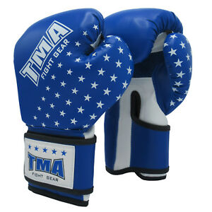 TMA Kids Boxing gloves best for kickboxing, Martial Arts, MMA, Muay Thai