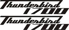 Triumph thunderbird commander 1700 vinyl stickers