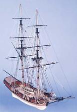 """Detailed, Brand New Wooden Model Ship Kit by Caldercraft: """"HM Brig Badger"""""""