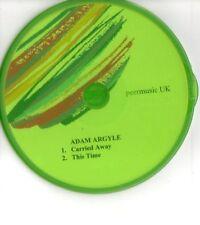 (EY83) Adam Argyle, Carried Away / This Time - DJ CD