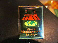 MCDONALDS STORE MANAGEMENT SYSTEM VINTAGE  LAPEL PIN
