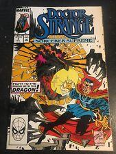 Doctor Strange,Sorcerer Supreme#4 Incredible Condition 9.4(1989) Case Art!!