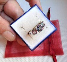 Traumhafter 925 Silber Ring mit 3 funkelndenden Mystic Topasen! Juwelier-um 2000