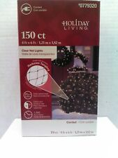 Holiday Living 150 Count Clear Net Lights 4ft x 6ft Brand New in Box