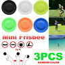 3pcs Zip Chip ZipChip Flying Disc Mini Pocket New Spin Flexible Catching Game*-