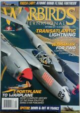 Warbirds International Sep 2017 Transatlantic Lightning Warhawk FREE SHIPPING sb