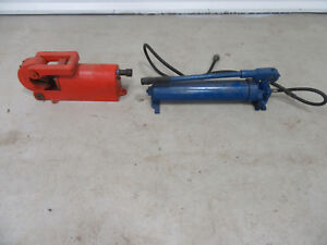 """Pell Model MRE Hydraulic Operated Hydrashear Cable Cutter 2-1/2"""" Capacity"""