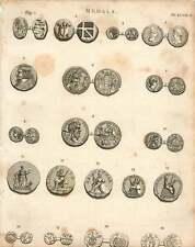 1802  Medals Persia Drachma Alexander The Great Severus Saxon Penny Styca Copper