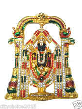 Lord Tirupati Balaji Venkatesh Idol for Car Dashboard Home Gift God Idol - 10 cm