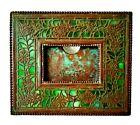 Rare Original Tiffany Studios picture Frame in Flowering Vine Filigree Pattern