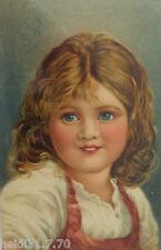 """Kinder"" 1909, schöne Prägekarte ♥ (6077)"